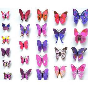 15 Lotes De 12 Piezas De Mariposa Decorativa180 Mariposas!!!