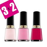 3x2 Esmalte Color Uñas Revlon Manicuria Esmaltado