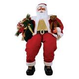 Papai Noel Superlux Sentado Bivolt 152cm - Yangzi