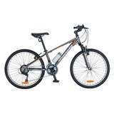 Bicicleta Bianchi Mtb Aro 24 Xc-240 Sx Alloy Color Gris Mate