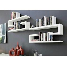 Mueble Y Decoración Repisa Flotante Minimalista Tipo C