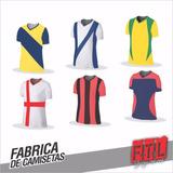 Fabrica De Camisetas De Fútbol Minimo 10 Unidades