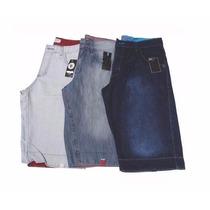 Kit 03 Bermudas Jeans Masculina Ótima Qualidade, Promoção!