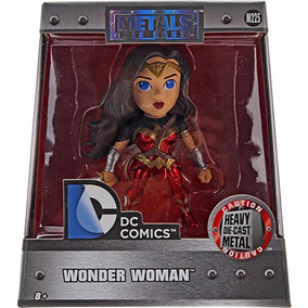 Boneco 4 Wonder Woman (mulher Maravilha) Metals Die Cast Dtc