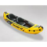 Canoa Kayak Bote Inflable Intex Explorer K2