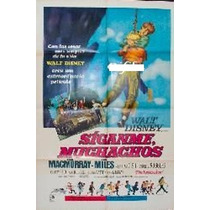 Afiche Original Disney Síganme Muchachos Fred Macmurray 1966