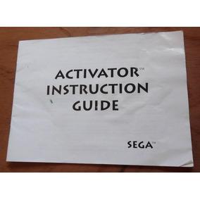 Manual Activator Sega - Game - Jogo