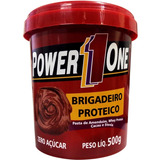 Pasta De Amendoim Com Brigadeiro Proteico Power One - 500g