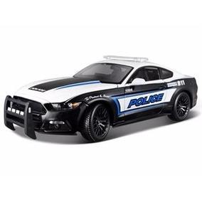 Miniatura De Ford Mustang Gt Police 2015 1:18 Maisto