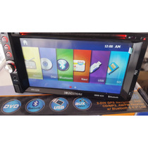 Estereo D Pantalla Soundstream Gps Mex, Usa Dvd Usb Aux Mp3