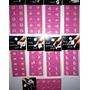 Lote 10 Planchas De Stencil Para Uñas Surtidos Decoración