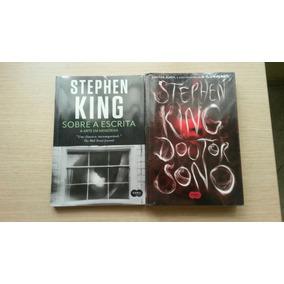 Stephen King Doutor Sono + Sobre A Escrita - Livros Lacrados