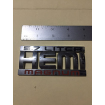 Emblema Ram Hemi 5.7 Liter Magnum Original