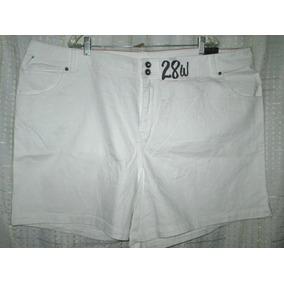 Shorts Plus Tallas 28w Americanos Extragrandes-para Gorditas