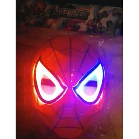 Mascara Vengadores Spider-man Hombre Araña . Ironman. Cap