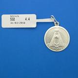 Medalla Virgen Del Valle Plata Ley 925 De 21mm Smvv21