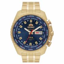Relógio Orient Masculino Automático 469gp057 D1kx Azul