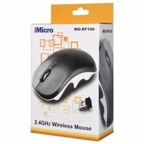 Imicro Nano Ratón Mouse Óptico Inalámbrico 2.4 Ghz 4-button