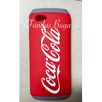 Funda Iphone 5s Se 5c 6 6s Coca Cola Lata Refresco 3d Silico
