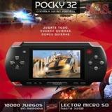 Consola Portatil 10000 Juegos Memoria 32 Gb Cargate Juegos