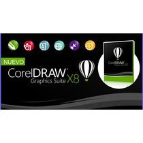 Corel Draw X7 - X8 Licencia Permanente
