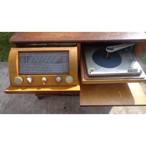 Tocadiscos winco con mueble tocadiscos antiguos en for Muebles para tocadiscos