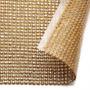 Manta D Strass Dourada 120*22cm P/ Chinelos Artesanato Decor