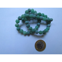 Ágata Verde 8mm, Pedra Natural,pedra Semi Preciosa, Contas