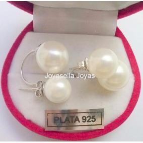 Precioso Y Exclusivo Aro En Perlas Cultivadas. Entre Inmed!