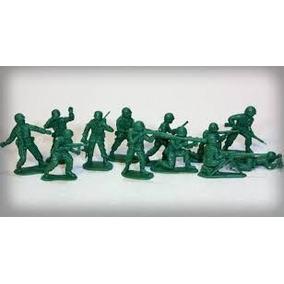 Soldado Soldadinho De Plástico Modelo Gulliver Aprox35 Peças