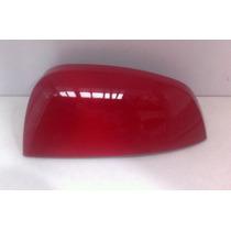 Capa Retrovisor Gm Meriva Original Lado Esquerdo Vermelha