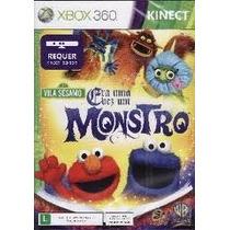 Kinect Era Uma Vez Um Monstro Vila Sesamo Xbox 360