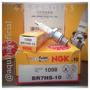 Bujias Ngk Br7hs-10 (1098) Motor Fuera Borda Yamaha 40hp