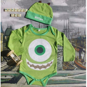 Body Mameluco Mike Wazowzki Bebé Monster Inc