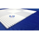 50 Placas Isolamento Acústico De Isopor 12m² - Anti Chamas