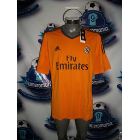 Oferta Jersey Original Adidas Real Madrid Gala Naranja 2013