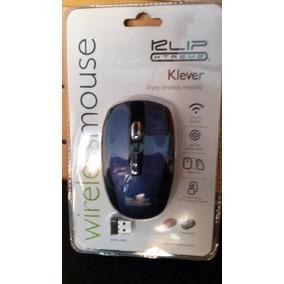 Mouse Wireless Inalambrico Klip Xtreme Azul Somos Tienda
