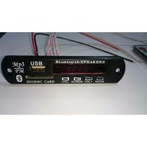 Placa Decodificador Usb Caixa Ativa Mp3 Fm Aux Pen Drive