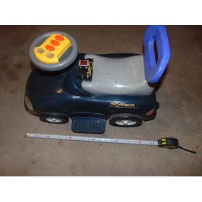 Auto Cochecito A Batería De Bebe- Usado-no Tiene La Bateria