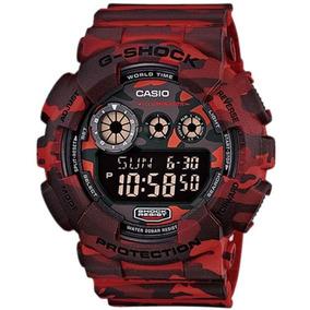 Relógio Casio G-shock Masculino Gd-120cm-4dr