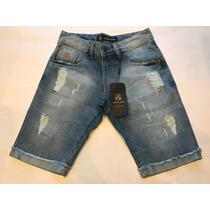 Bermuda Masculino Jeans Da Johnj Pronto Entrega