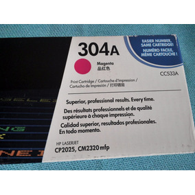 Cartucho De Impresora Toner Hp Vacio Hp Magenta 304a