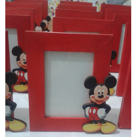 Portaretratos Souvenirs Mickey Mouse Personalizado
