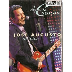 Dvd José Augusto - Ao Vivo Aguenta Coração/ Digipack - Novo
