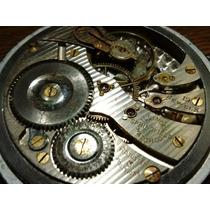 Reloj De Bolsillo Illinois Raro Mod Spartan Hecho En Usa