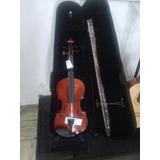Violin De 4 Cuartos, Incluye Estuche
