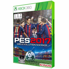 Pes 2017 Xbox 360 Dvd Midia Fisica Original Futebol Brasil