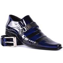 Sapato Social Couro Combina Terno Armani Gucci Pierre Cardin