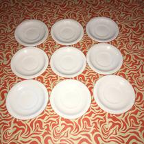 Plato De Cafe Porcelana Bar Segunda Seleccion!