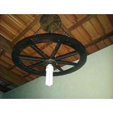 5 Luminaria Roda De Carroça